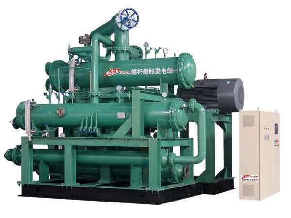 螺杆膨胀机发电系统