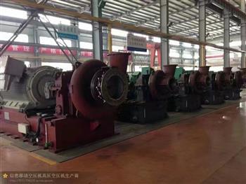 江蘇離心壓縮機(多級壓縮及單級壓縮)出口國外